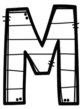 Yo puedo identificar letras y sonidos - ¡Esta es mi letra!