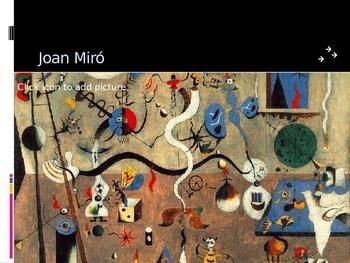 Arte del Mundo Hispano - 17 Hispanic Artists and Their Art PowerPoint