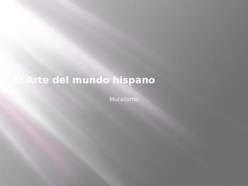 Arte del Mundo Hispano - Muralismo - Nuevas Vistas Curso Preliminar