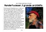 Arte e Didattica - #2 - Hundertwasser il grande architetto.