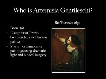 Baroque Art- Artemisia Gentileschi