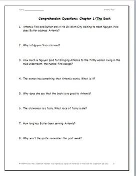 Artemis Fowl: A Complete Novel Study
