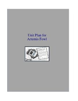 Artemis Fowl Novel Unit