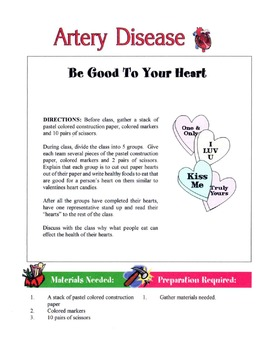 Artery Disease Lesson