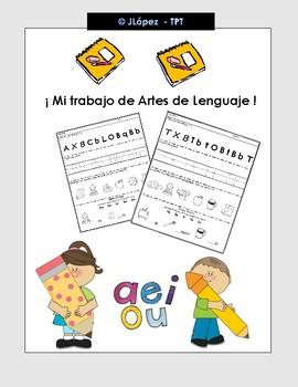 Artes de lenguaje - Kinder