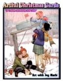 Artful Christmas Cards to Make, Enhance and Color