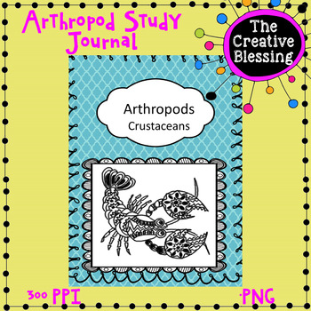 Arthropod Crustacean Unit Study PLUS Science Journal Notebook