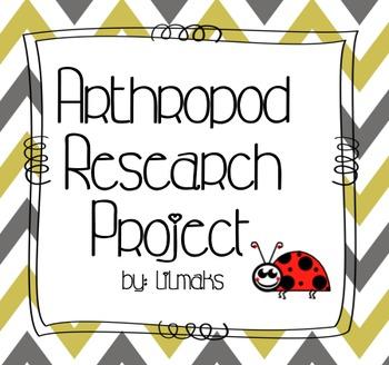 Arthropod Research Project