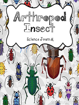 Arthropod Insects Science Journal Notebook