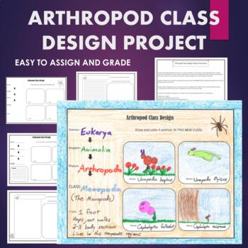 Arthropods Design A New Class Of Phylum Arthropoda By