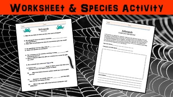 Arthropods Lesson with Power Point, Worksheet, and Creative Activity