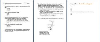 Arthropods Quiz 2