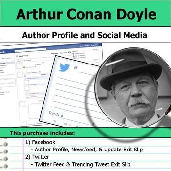 Arthur Conan Doyle - Author Study - Profile and Social Media