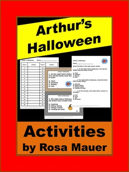 Arthur's Halloween Comprehension Questions