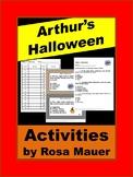 Arthur's Halloween Comprehension Questions
