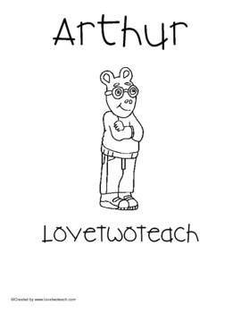 Arthur Literacy and Math Fun