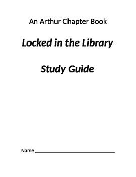 Arthur: Locked in the Library Comprehension Questions