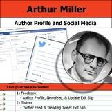 Arthur Miller - Author Study - Profile and Social Media