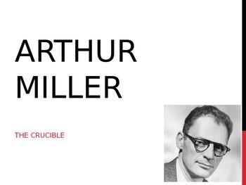 Arthur Miller Introduction