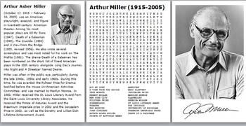 Arthur Miller Word Search Bundle