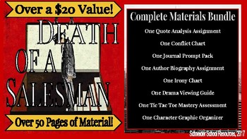 Arthur Miller's Death of a Salesman: Complete Materials Bundle