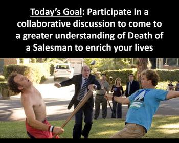 Arthur Miller's Death of a Salesman Socratic Seminar (Two Different Methods)