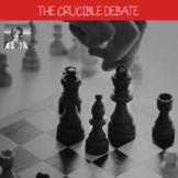 Arthur Miller's The Crucible: Debate, High School ELA