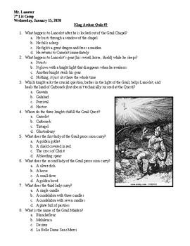 Arthur Quiz 002