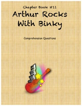 Arthur Rocks with Binky comprehension questions