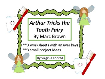 Arthur Tricks the Tooth Fairy (Marc Brown)--worksheets and