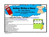 Arthur Writes a Story by Marc Brown Math and Literacy Activities  Grades 1-3