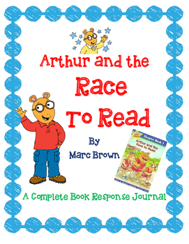 Arthur and the Race to Read by Marc Brown-A Complete Book