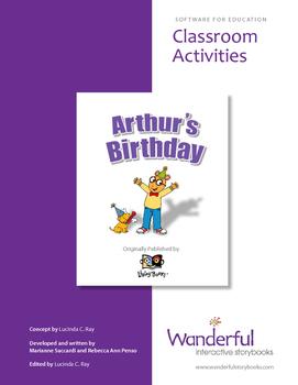 Arthur's Birthday Classroom Activities Guide