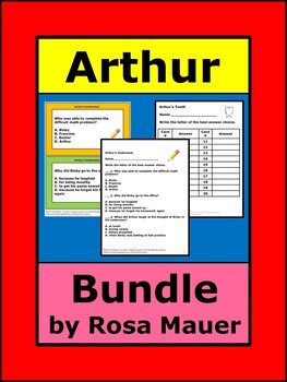 Arthur's Literacy Bundle