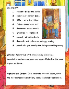 Arthur's Computer Disaster ELA Primary Reading Literature Study Guide