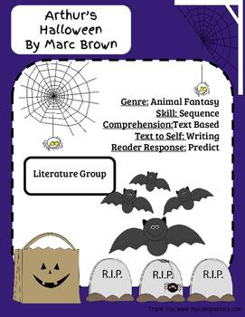 Arthur's Halloween-Literature Group
