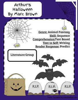 Arthur's Halloween-Literature Group