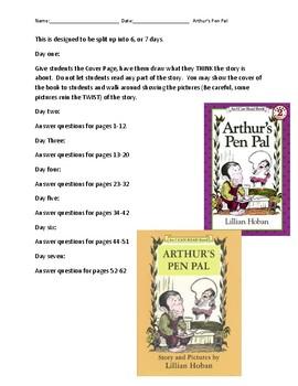 Arthur's Pen Pal Comprehension