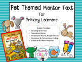 Arthur's Pet Business Mentor Text Lesson Plans (Opinion Writing)