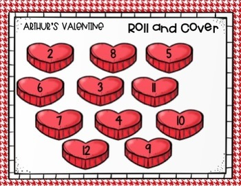 Valentine Book Companion with Literacy Activities
