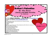 Arthur's Valentine by Marc Brown Math and Literacy Activities Grades 1, 2, 3
