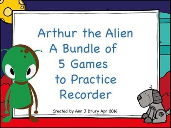 Arthur the Alien's Poison Pattern - A Bundle of 5 Games to
