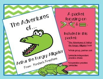 Greater Than, Less Than with Arthur the Hungry Alligator