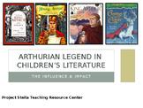 Arthurian Legend Book Comparison PowerPoint