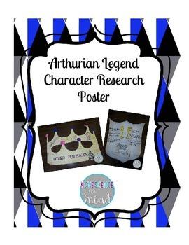 Arthurian Legend Character Poster