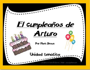 Arthur's Birthday in Spanish