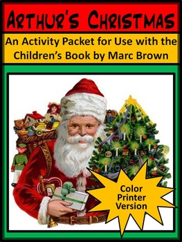 Christmas Reading Activities: Arthur's Christmas Activity Packet