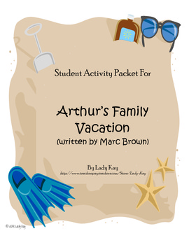 States vacation teaching resources teachers pay teachers arthurs family vacation by marc brown worksheets 2nd 3rd grade fandeluxe Gallery