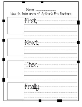 Arthur's Pet Business: How to Writing and Craft
