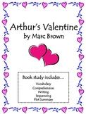 Arthur's Valentine Activities: Vocab, Comprehension, Seque